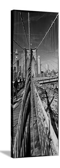 New York Bridge-AJ Messier-Stretched Canvas Print