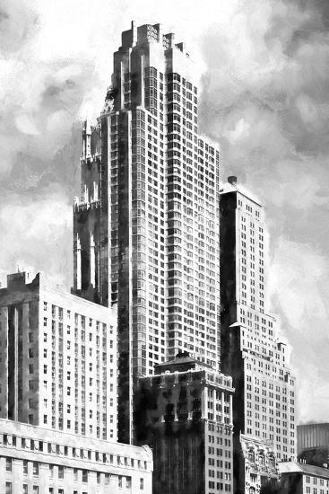 New York Building BW-Philippe Hugonnard-Giclee Print