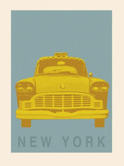 New York - Cab-Ben James-Giclee Print