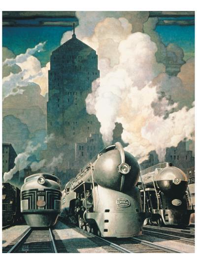 New York Central System--Premium Giclee Print