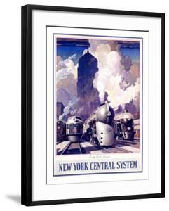 New York, Central Train System