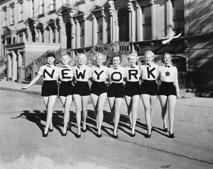 New York Chorus Line Girls