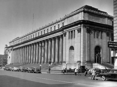 New York City, Farley Post Office Building-George Marks-Photographic Print