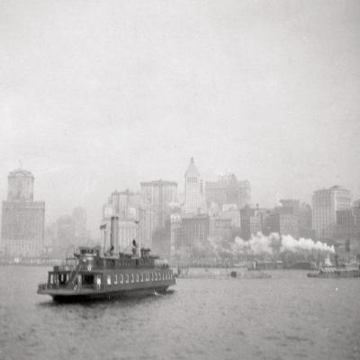 New York City from the River, USA, 20th Century-J Dearden Holmes-Photographic Print
