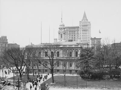 New York City Hall--Photographic Print