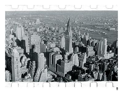 New York City In Winter III-British Pathe-Giclee Print