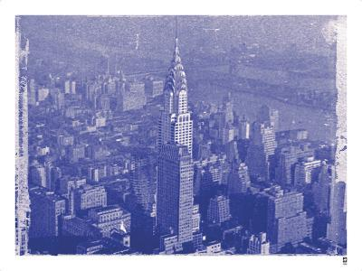 New York City In Winter IV In Colour-British Pathe-Giclee Print