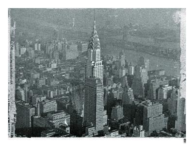 New York City In Winter IV-British Pathe-Giclee Print