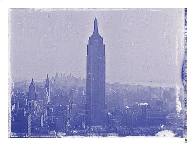 New York City In Winter VII In Colour-British Pathe-Giclee Print
