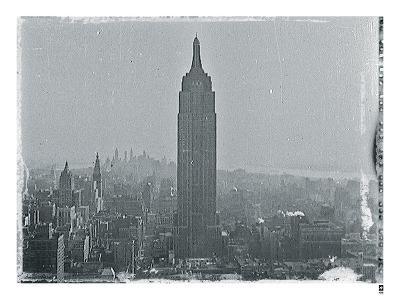 New York City In Winter VII-British Pathe-Giclee Print