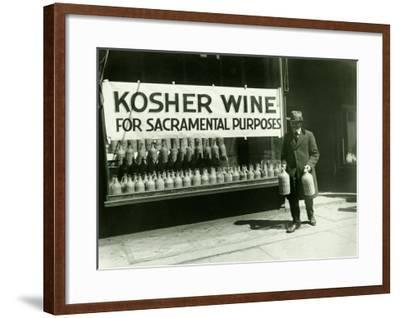 New York City, Kosher Wine