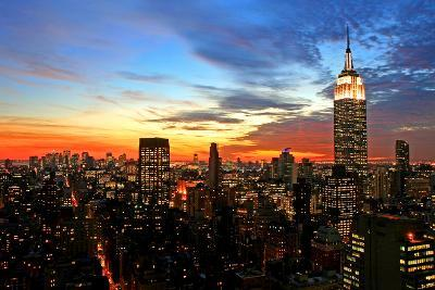 New York City Midtown Skyline-Gary718-Photographic Print