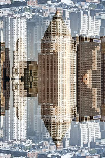New York City Reflections Series-Philippe Hugonnard-Photographic Print