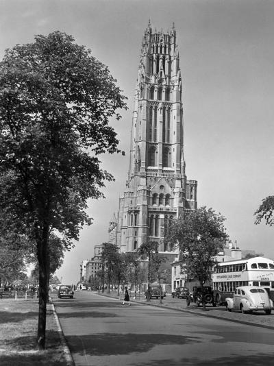 New York City, Riverside Church-George Marks-Photographic Print