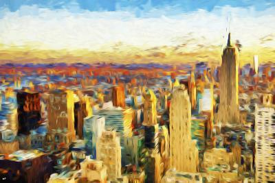 New York City V - In the Style of Oil Painting-Philippe Hugonnard-Giclee Print