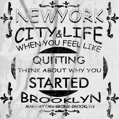New York City Vector Art-emeget-Art Print