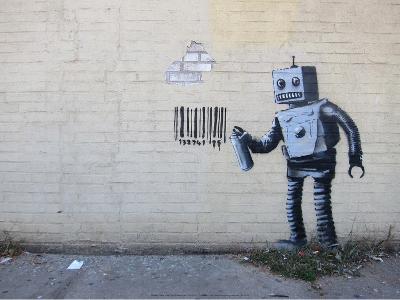 New York City-Banksy-Art Print