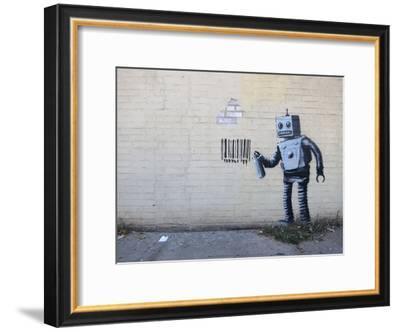 New York City-Banksy-Framed Art Print