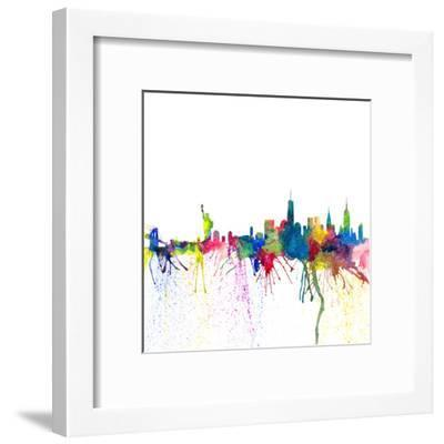 New York City-M Bleichner-Framed Art Print