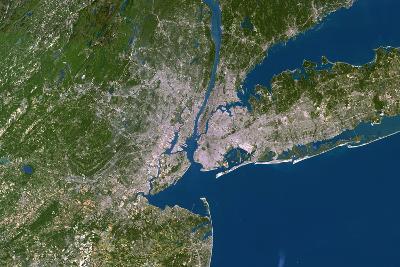 New York City-PLANETOBSERVER-Photographic Print