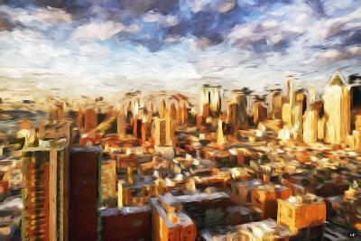 New York Cityscape - In the Style of Oil Painting-Philippe Hugonnard-Giclee Print