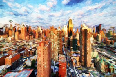 New York Cityscape IV - In the Style of Oil Painting-Philippe Hugonnard-Giclee Print