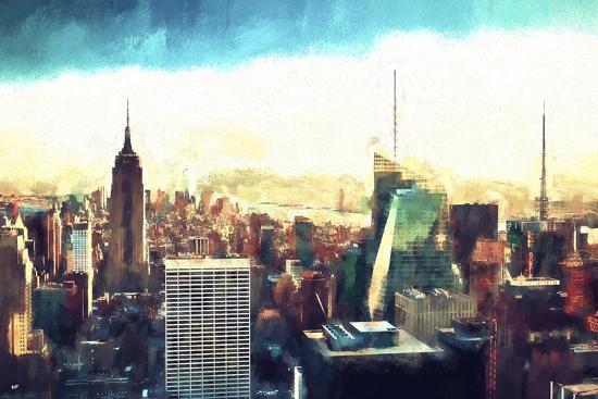 New York Cityscape IV-Philippe Hugonnard-Giclee Print