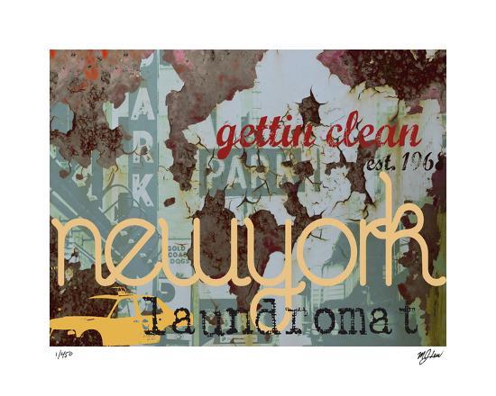 New York Clean-Mj Lew-Giclee Print