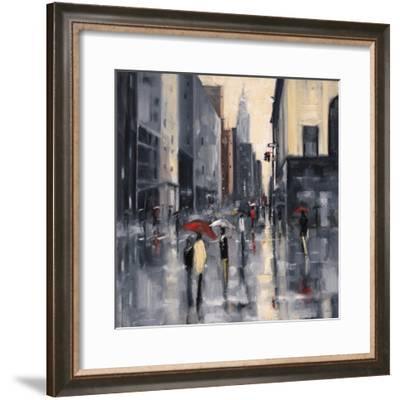 New York Cloudburst-Shawn Mackey-Framed Giclee Print