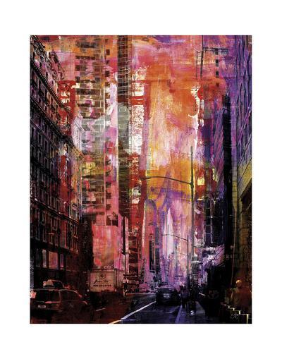 New York Color XXX-Sven Pfrommer-Art Print