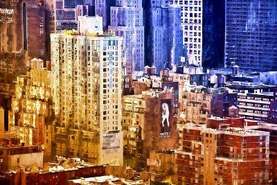 New York District Colors-Philippe Hugonnard-Giclee Print