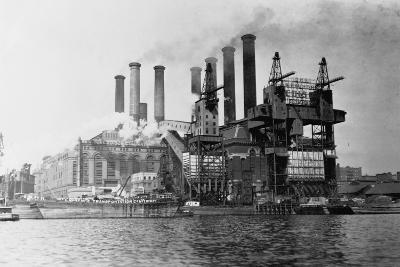 New York Edision Company Power Plant--Photographic Print