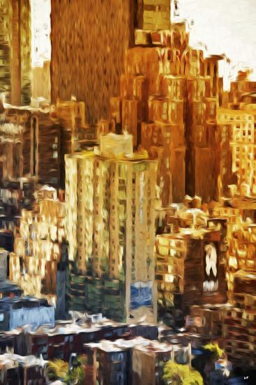 New York Facades - In the Style of Oil Painting-Philippe Hugonnard-Giclee Print