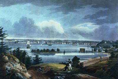 New York from Heights Near Brooklyn, 1820-23-William Guy Wall-Giclee Print