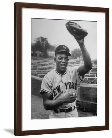 New York Giants Baseball Player Willie Mays--Framed Photographic Print