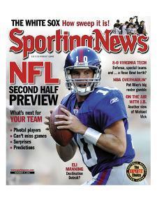 New York Giants QB Eli Manning - November 11, 2005