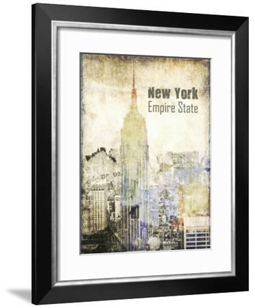 New York Grunge II-Irena Orlov-Framed Art Print