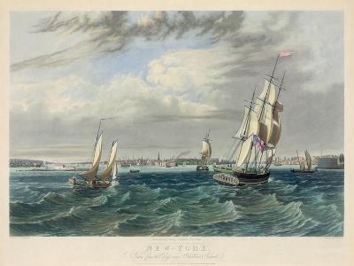 New York Harbor--Giclee Print