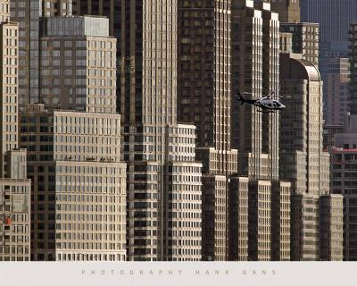 New York Helicopter-Hank Gans-Art Print
