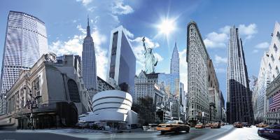 New York Highlights-Nyss-Art Print