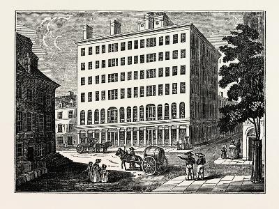 New York: Holt's Hotel, USA--Giclee Print