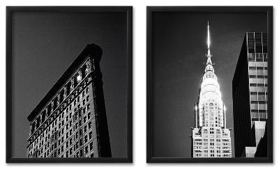 New York Icon Framed Set--Framed Set