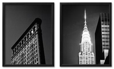 New York Icon Framed Set