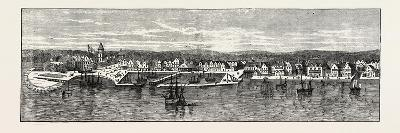 New York in the Middle of the Eighteenth Century, USA, 1870s--Giclee Print