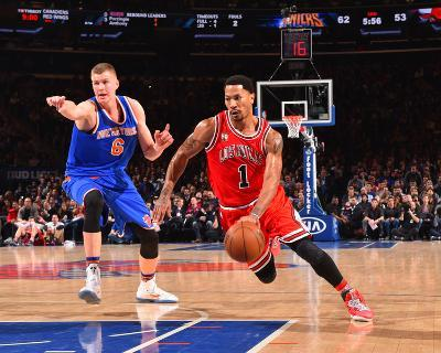 New York Knicks V Chicago Bulls-Jesse D Garrabrant-Photo