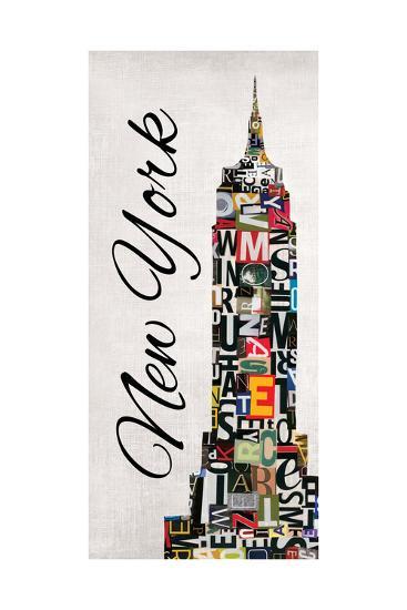 New York Letters-Jeni Lee-Art Print