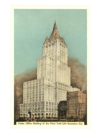 New York Life Insurance Building, New York City--Art Print