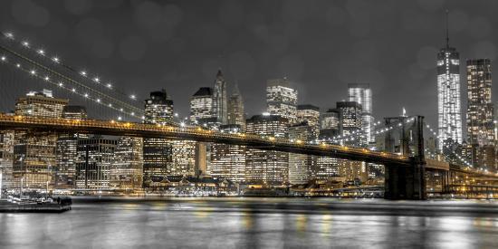 New York Lights-Assaf Frank-Photographic Print