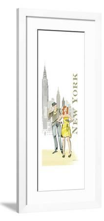New York Lovers-Avery Tillmon-Framed Premium Giclee Print