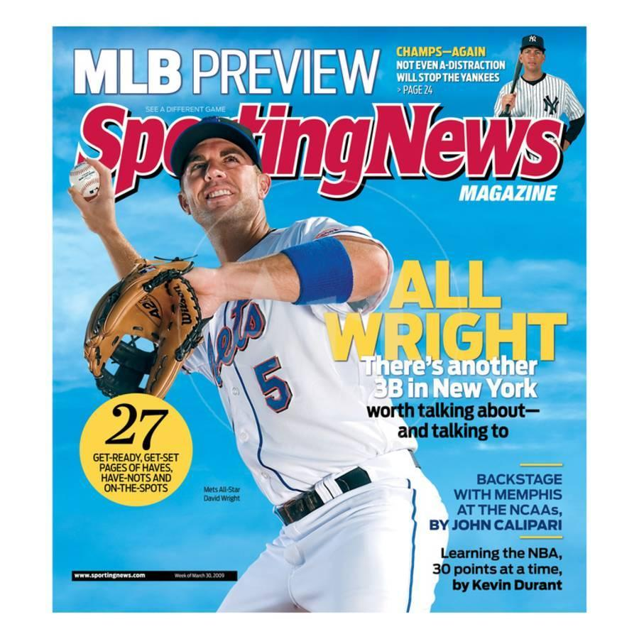 Image result for david wright magazine cover